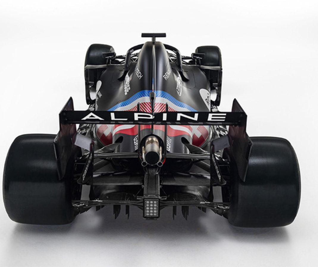 Arrière Alpine F1