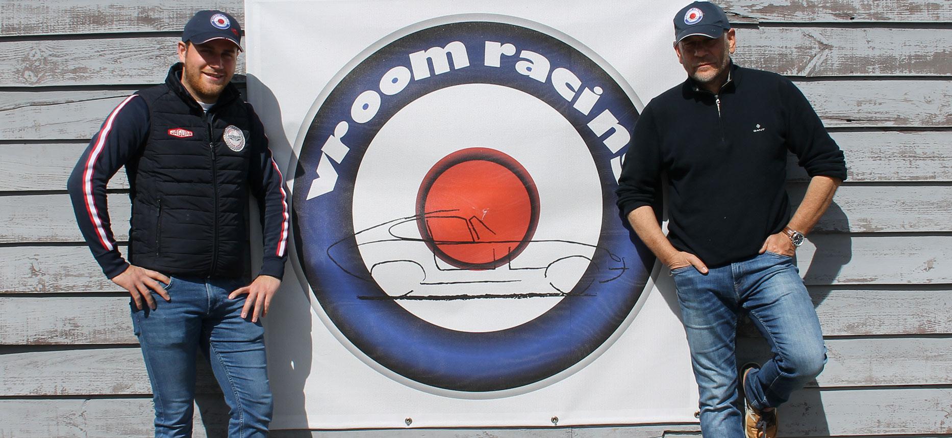 Président du club VroomRacing (Louis Moneger) et son père