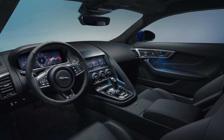Jaguar F-Type - Intérieur