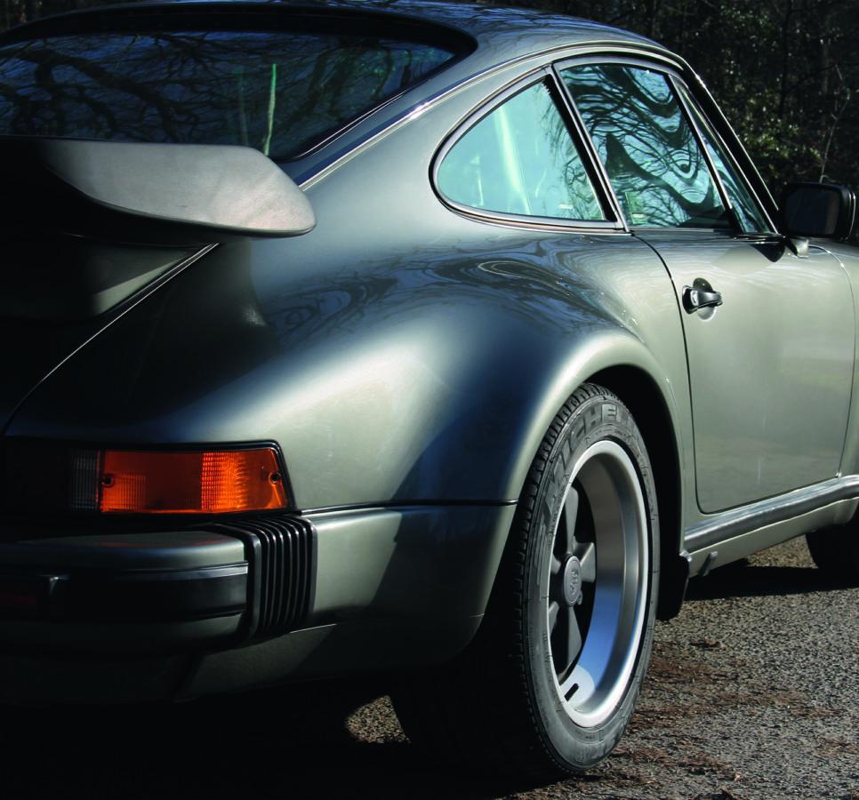 Arrière Porsche 911 Turbo