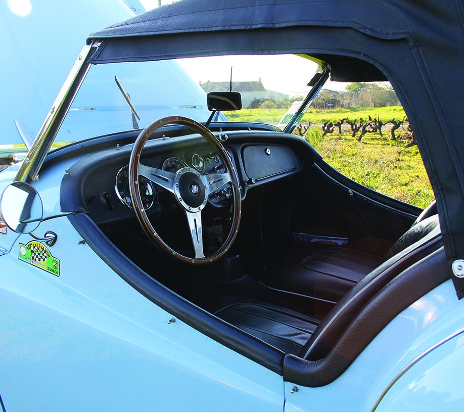 Intérieur Triumph TR3