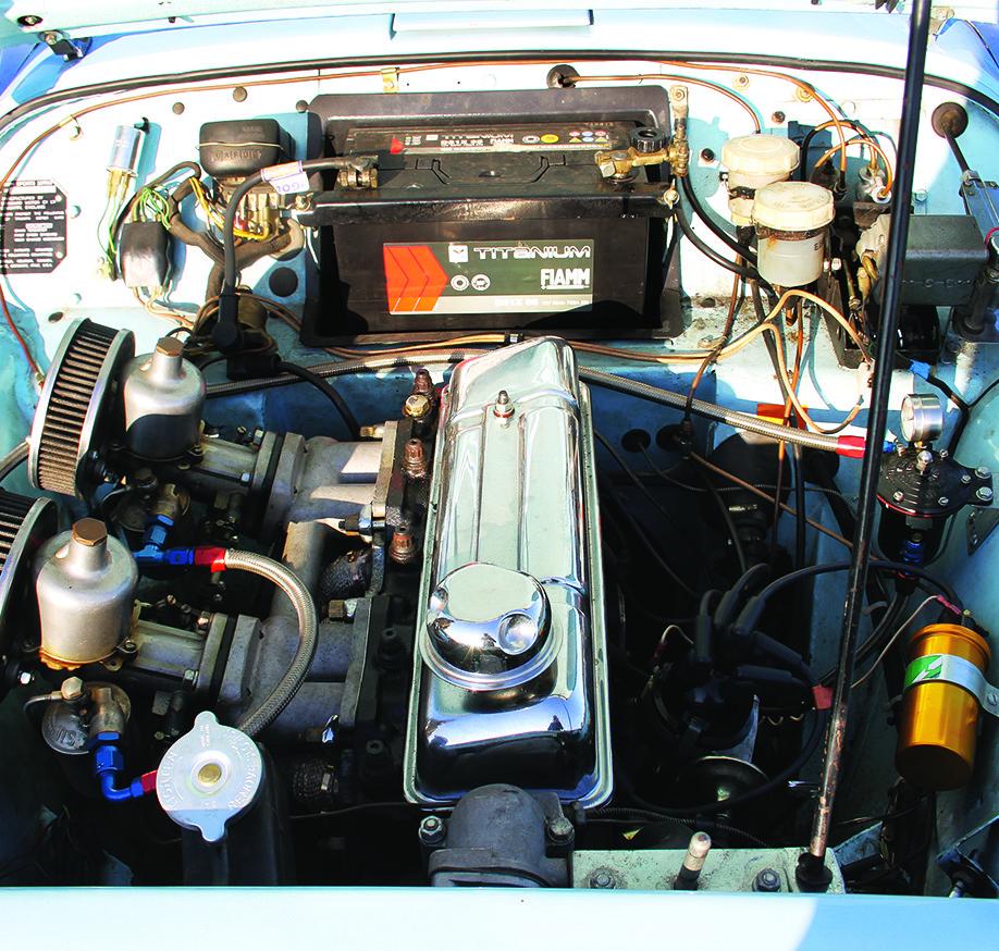 Moteur Triumph TR3